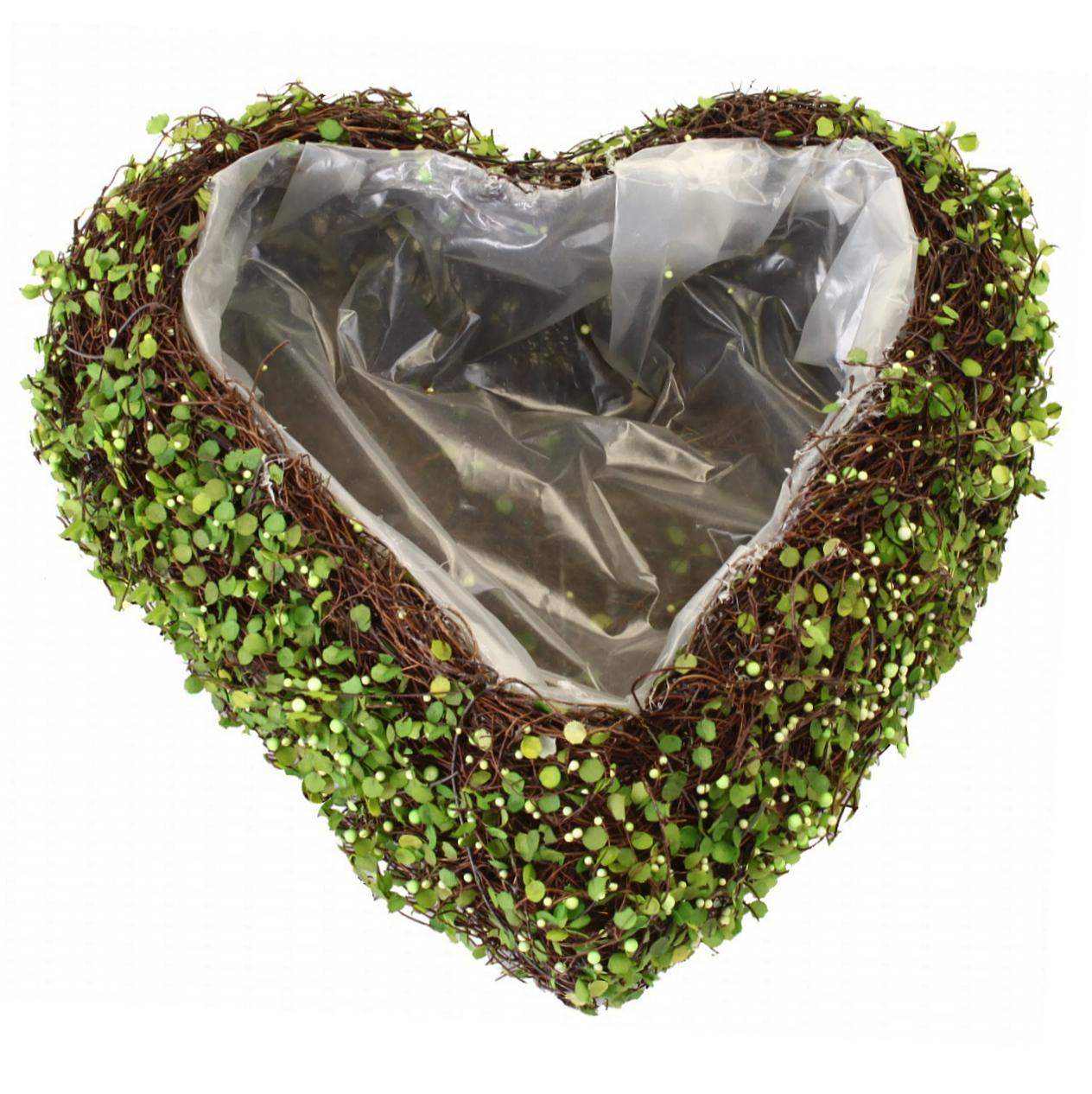 Rebenherz 25cm, Ostern, Frühling, Deko, Pflanzherz, Garten, Pflanzen