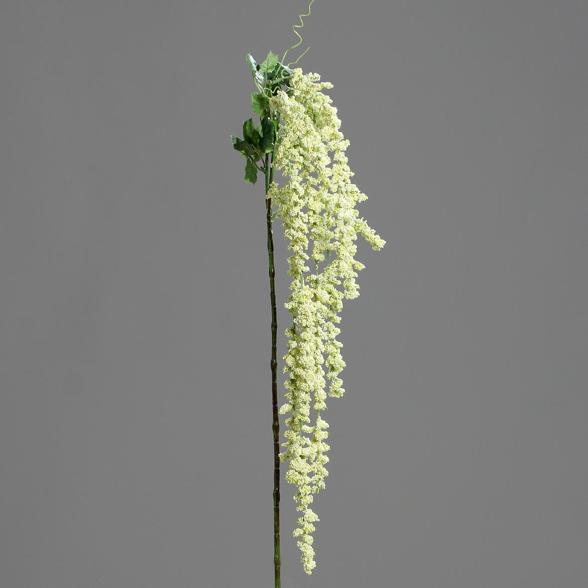 Amaranthus creme 100cm Kunstpflanze Heimdeko