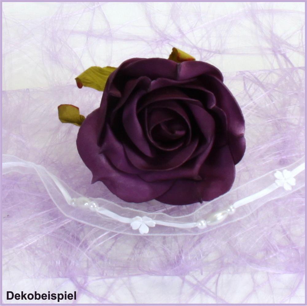 sizoweb flieder lavendel 50m x 30cm tischband tischl ufer tischdecke faserseide ebay. Black Bedroom Furniture Sets. Home Design Ideas